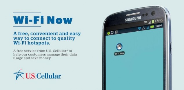 US Cellular launches Wi-Fi Now app, alleviating their network and