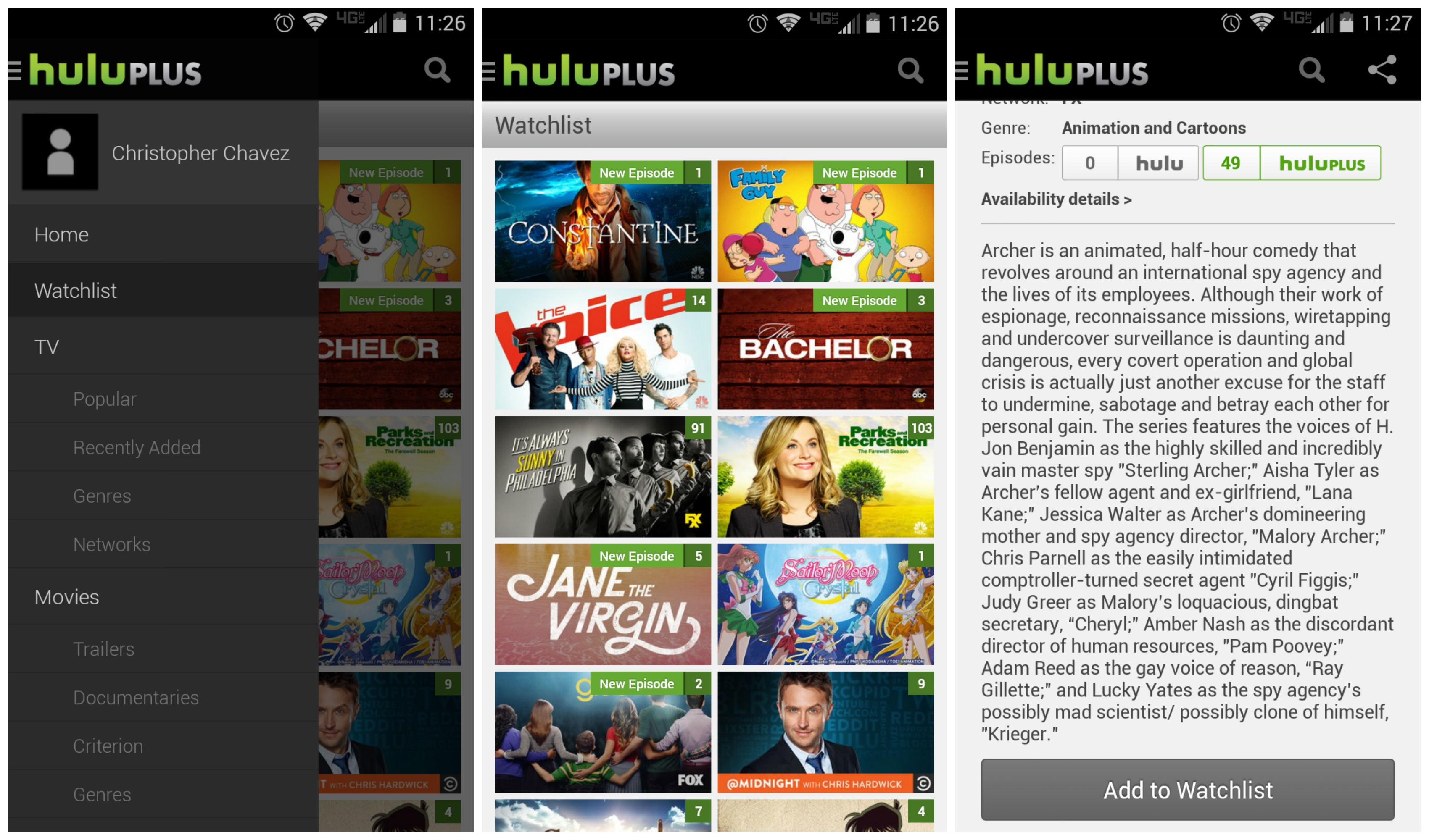 Hulu Shows Hulu Watchlist Replaces Queue Favorites Shows You Watch