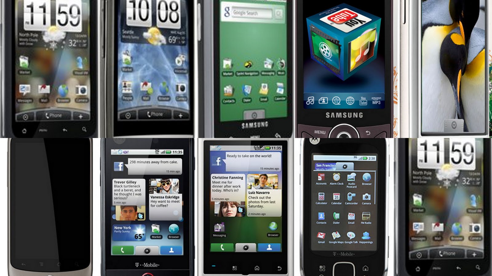 Phone S On The Mobile 11 Worst Android Phones Of All Time Phandroid