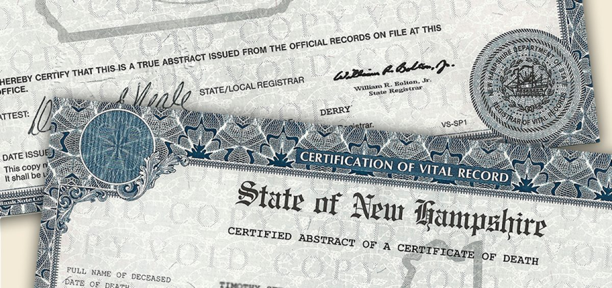 What You Should Know About Death Certificates in New Hampshire Phaneuf