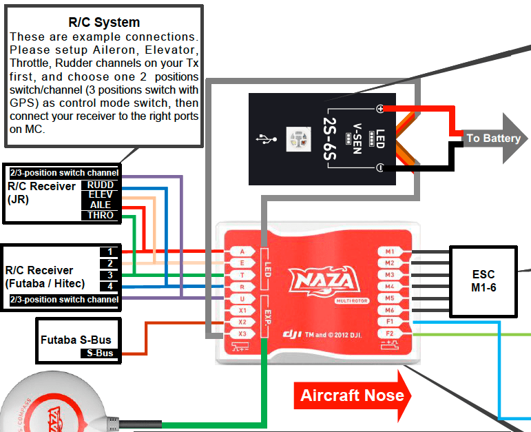 dji phantom naza wiring diagram