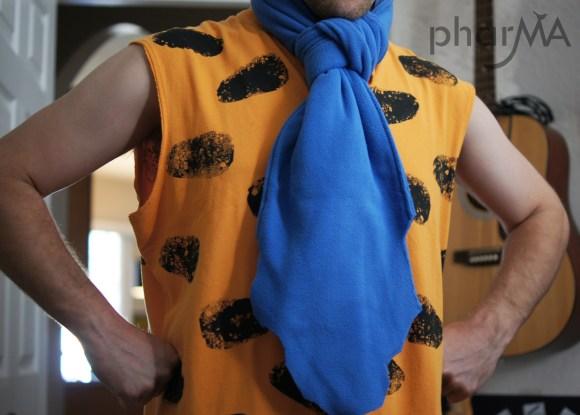 DIY Flinstones costumes