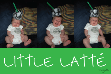 Little Baby Latte Costume