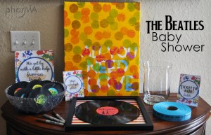 The Beatles Baby Shower