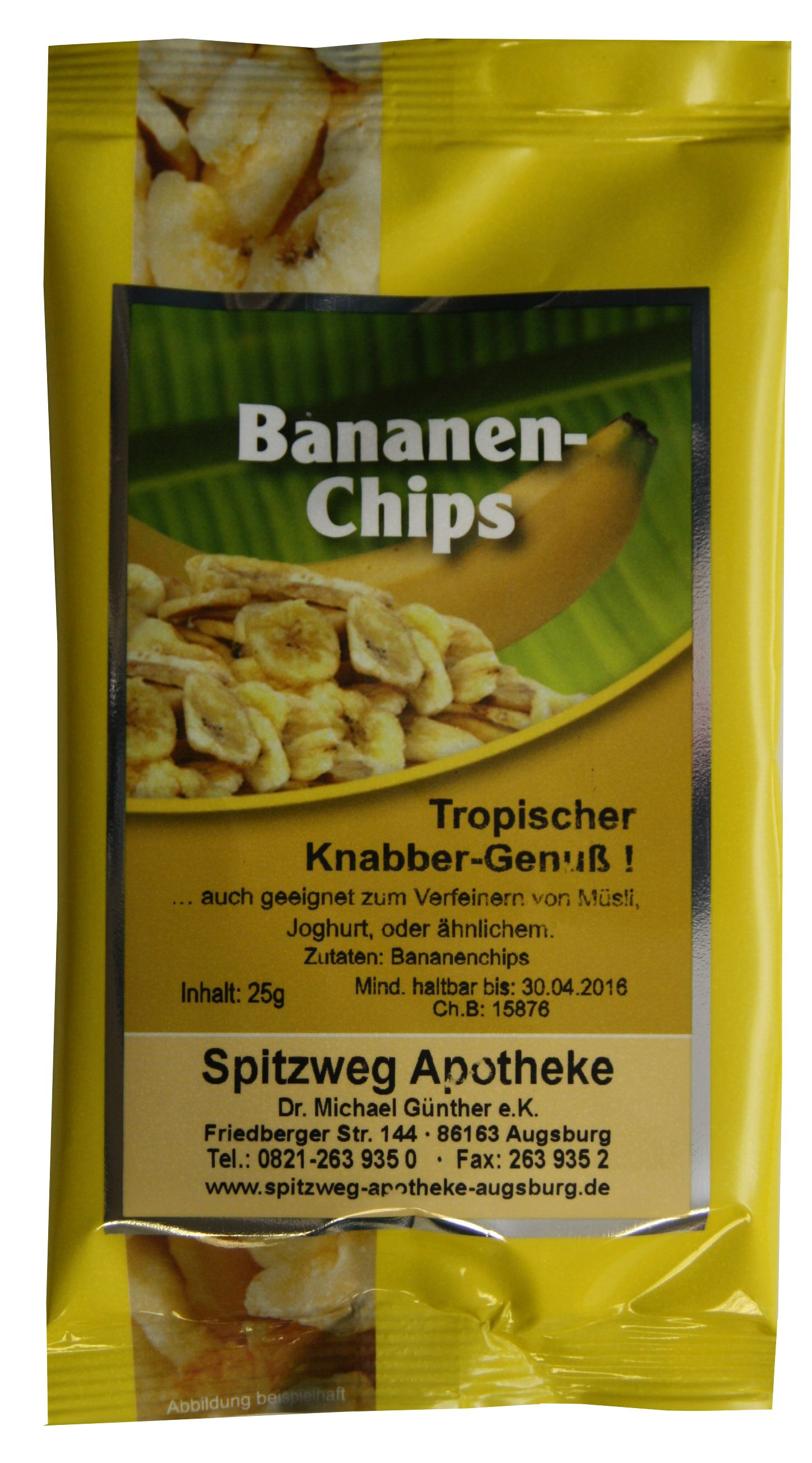 Chips Bestellen Bananenchips Pharma Brutscher