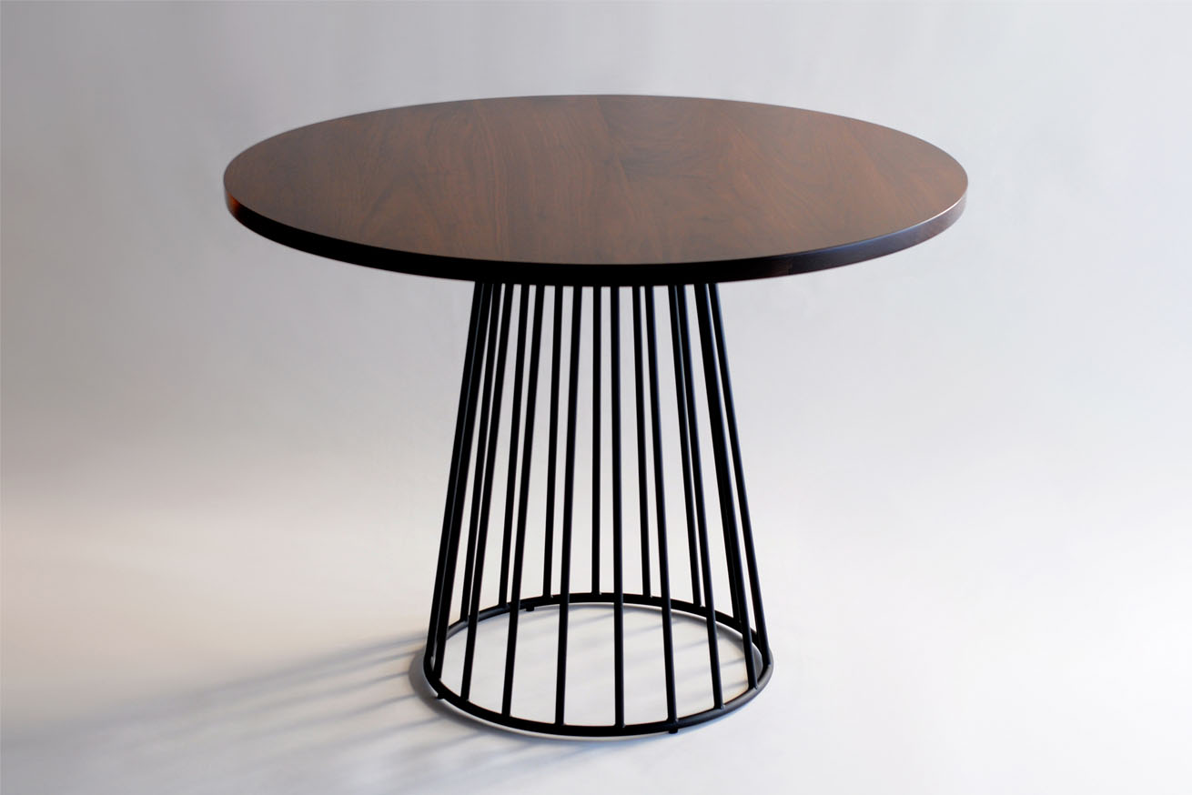 Cafe Table Phase Design Reza Feiz Designer Wired Cafe Table Phase