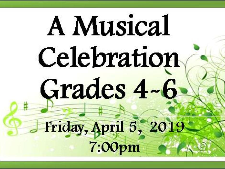 Spring Concert Facebook post