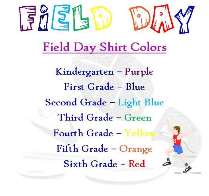Website Shirt Colors