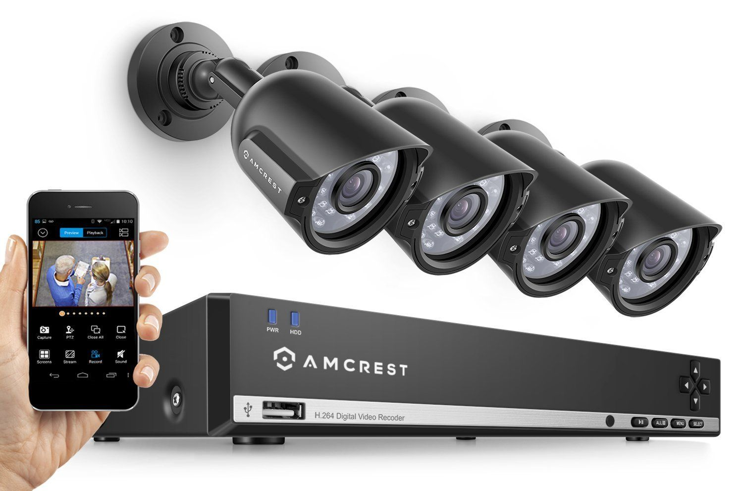 Diy Home Security Cameras Reviews Best Wireless Security Camera Systems With Night Vision