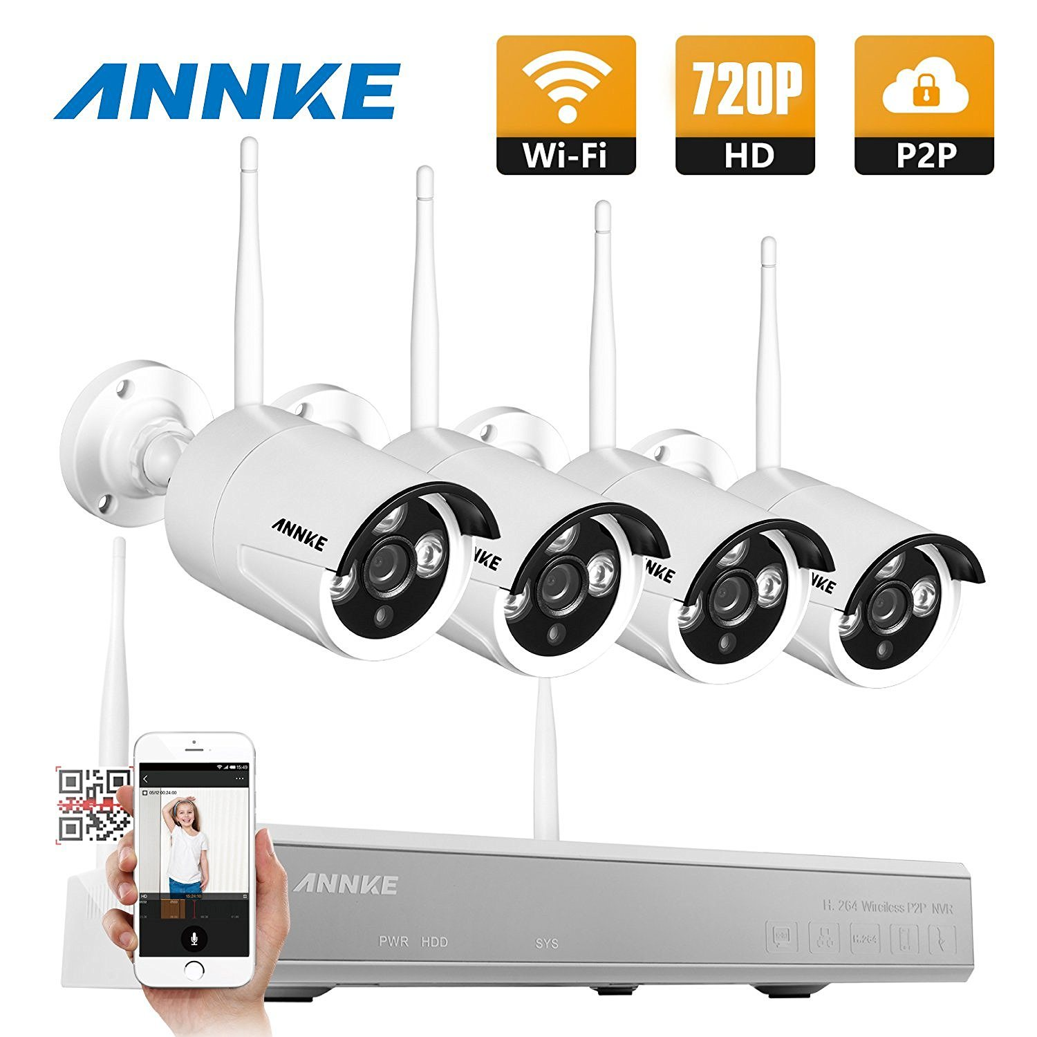 Diy Home Security Camera System Reviews Best Wireless Security Camera Systems With Night Vision