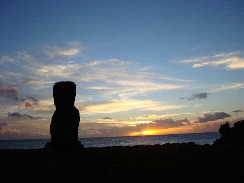 Easter Island Sunset Hanga Roa