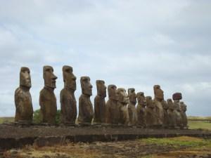 Ahu Tongariki- 15 Moai