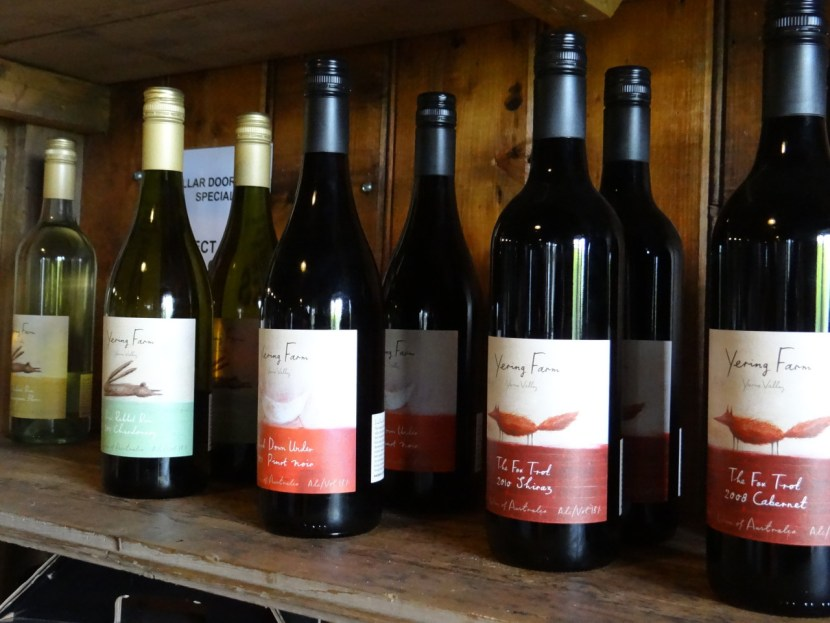 Yering Farm boutique wines
