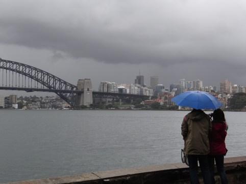Sydney in the Rain
