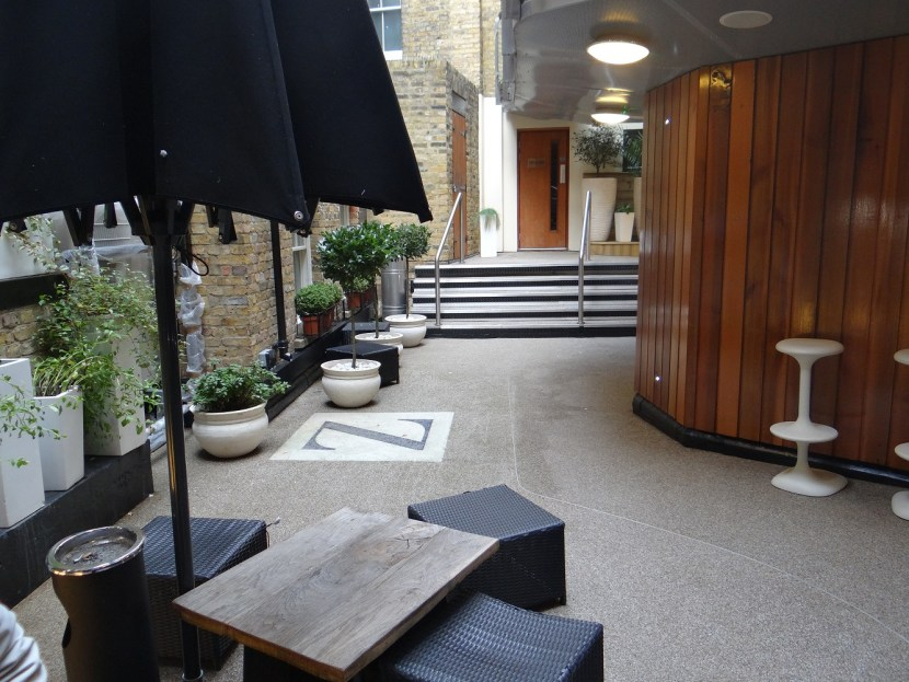 Z hotel soho courtyard london for less