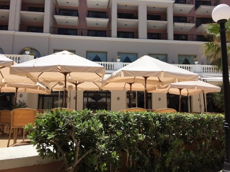 The westin malta review luxury views food and service for The terrace bar and food