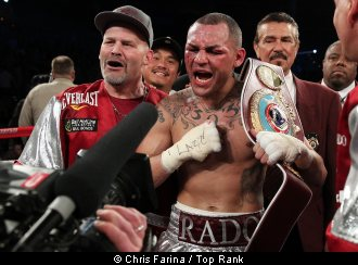 Watch Brandon Rios vs Mike Alvarado 2 full fight video replay March 30