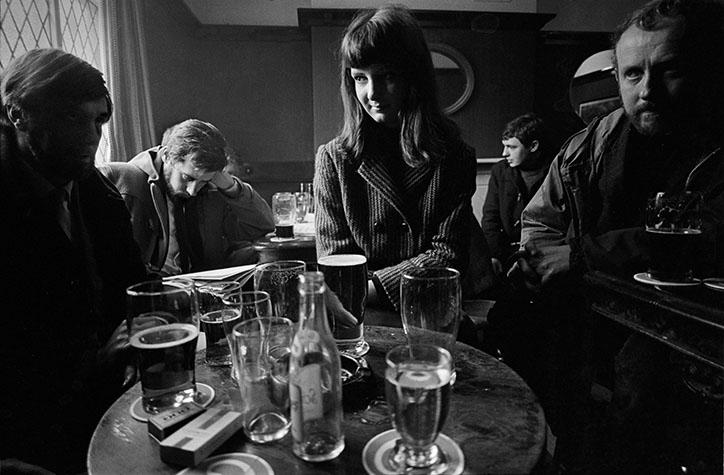 G.B. ENGLAND. Liverpool. Ye Cracke pub. 1966.