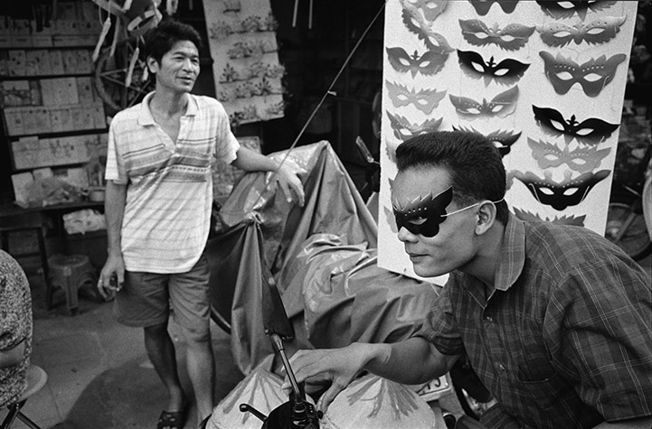 VIETNAM. Foreign influences extend even to spectacles. 2000.