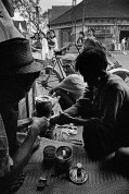 VIETNAM. Saigon. Phan Ngu Lao Street drug addicts. 1971