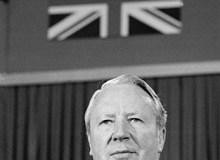 ENGLAND. 1974. Prime Minister Edward HEATH.