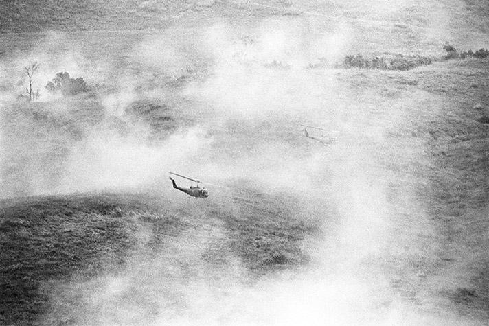 VIETNAM.  American military operations northwest of Saigon. 1967
