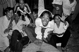 VIET NAM. 2000. The youth of the new Viet Nam spend much of their time hanging out on the streets.