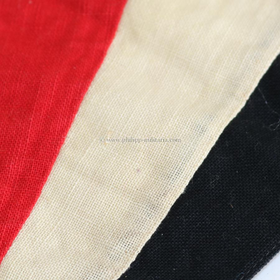 Wimpel Nationalflagge Schwarz Weiß Rot Philipp Militaria Military Antiques