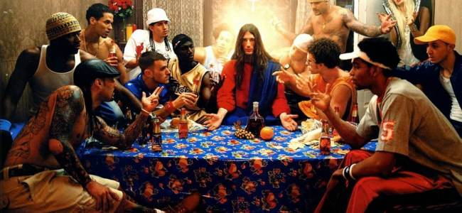 David LaChapelle, « Last Supper », série Jesus Is My Homeboy, 2003