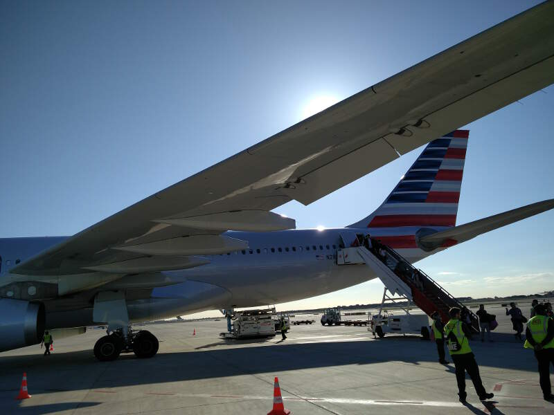 My big American Airlines plane