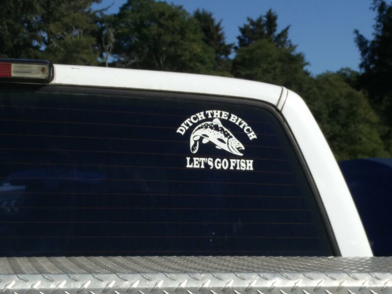 Spotted this bumper sticker....