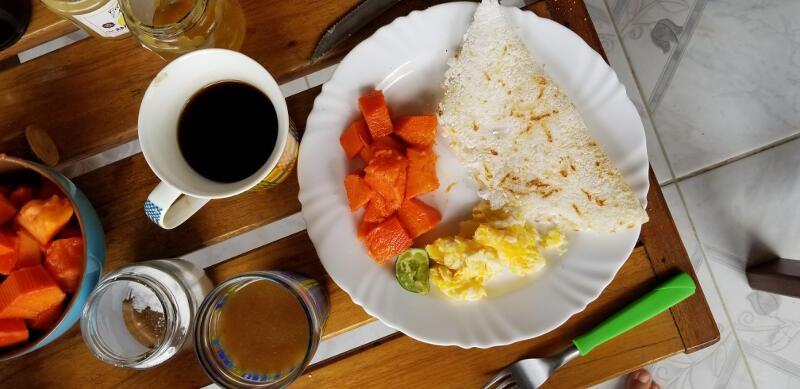 Tapioca for breakfast