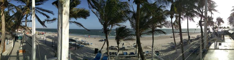 El Yaque Beach Panorama