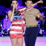 Katy Perry Kissed US Marine At Fleet Week NYC (Video)