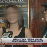Freddie Aguilar's GF Speaks Up TV Patrol Interview Video