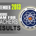 LET Exam Results (Sept. 2013) Alphabetical List of Passers (Secondary Level)