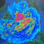 Super Typhoon Yolanda's Pie Image Captured Via Satellite Protecting Part of Negros Occidental