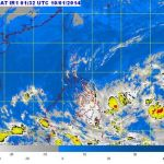 "Low Pressure Area ""Agaton"" Spotted East of Mindanao to Enter PAR"