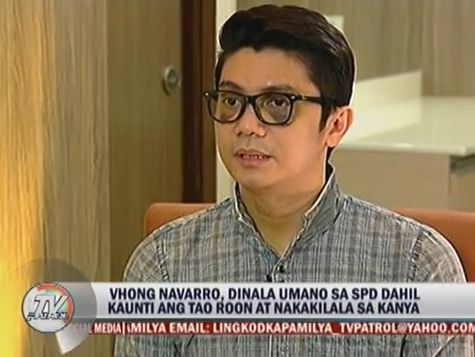 Vhong Navarro TV Patrol Interview