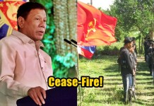 Duterte Declares Unilateral Ceasefire