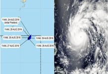 Typhoon Dindo: Has Entered The Philippine Area Of Responsibility