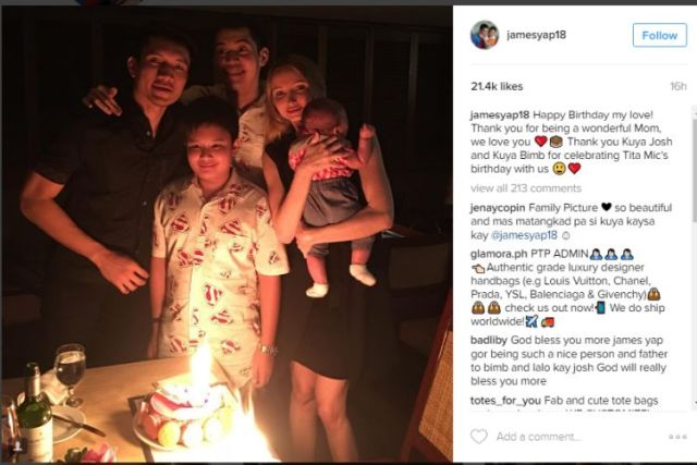 james relationship with bimby and josh