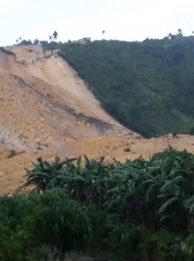 Actual CCTV Footage Of Landslide In Naga City, Cebu Goes Viral