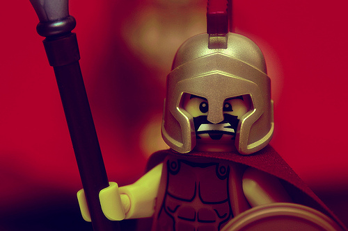 Why was Sparta the way it was? The people made it what it was.