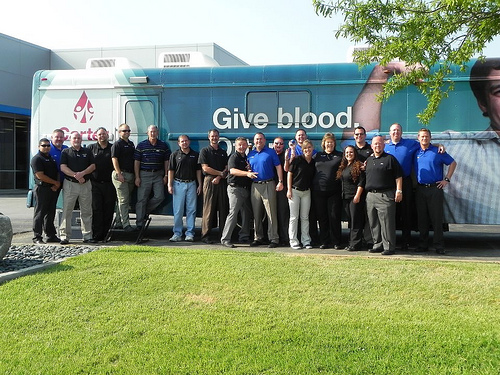 Donating blood is one of the ways I am dedicated to helping others. What can you do?