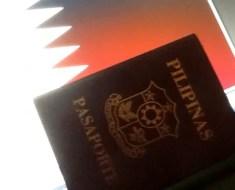 visa stamping qatar embassy philippines