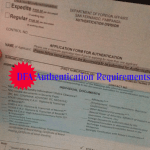 DFA Authentication of Documents Requirements – DFA San Fernando, Pampanga
