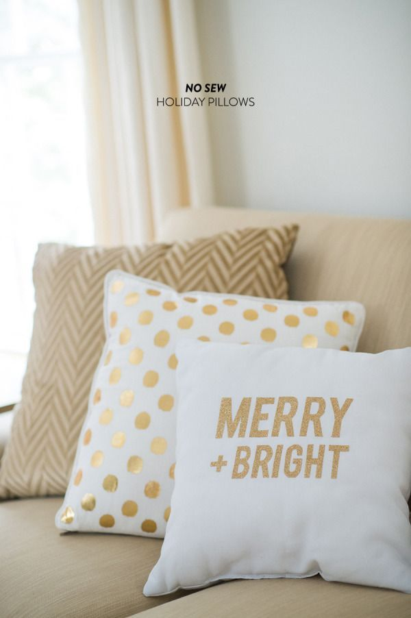 Condo Living 3 Sneaky Decorating Ideas for a Magical Merry - decorative christmas pillows