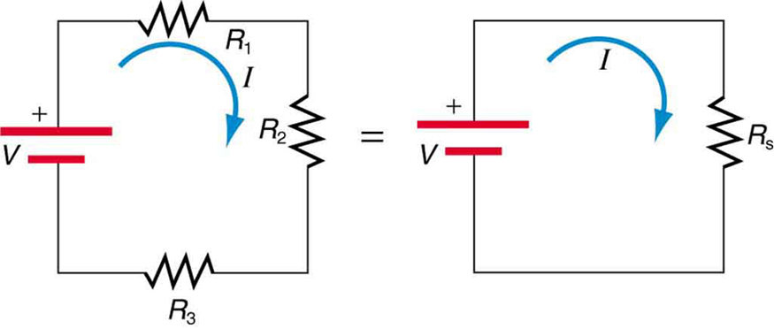 resistances in series electrical circuits