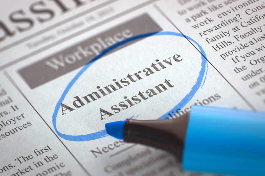 Now Hiring - Administrative Assistant (POSITION HAS BEEN FILLED - administrative assistant